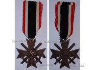 NAZI Germany WW2 Military Cross War Merit Swords 1939 2nd Class WWII 1940 1945 German Decoration