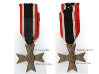 NAZI Germany WWII Military Cross for War Merit without Swords 2nd Class 1939 by Maker 14 Christian Lauer