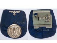 NAZI Germany Wehrmacht Long Service Medal 4th Cls German Army Navy Eagle Kriegsmarine WW2 1939 1945