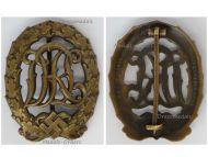 NAZI Germany WWII Sports Badge DRL 1935 1945 Bronze Class by Wernstein Jena