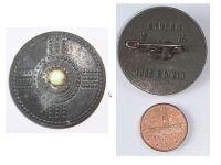 NAZI Germany WW2 German Proto Germanic Shield W16 1000 b.C. Badge pin WHW Winter Relief 1941 WWII 1945