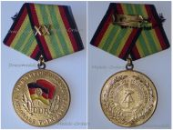 East Germany Medal for Long Service in the National People's Army 1st Class XX Years