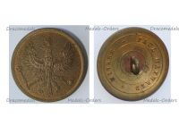 Germany WWI German Prussian Army Large Tunic Button with the Imperial Eagle by Paul Maywald