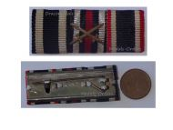 NAZI Germany WW1 Iron Cross Hindenburg WW2 Wehrmacht War Merit Military Medals Ribbon Bar 1914 1939 German