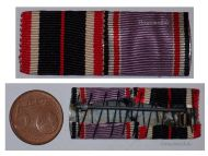 NAZI Germany WW2 War Merit 1939 Air Defense Meritorious Service Medal 1938 Ribbon Bar German Decoration 1945