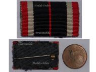 NAZI Germany WW2 War Merit Medal 1939 Ribbon Bar German Decoration 1945