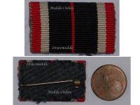 NAZI Germany WW2 War Merit Medal 1939 Ribbon Bar German Decoration 1945