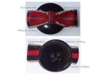 NAZI Germany WWII Ribbon Boutonniere for the Sudetenland 1938 and Eastern Front 1941/1942 Medals