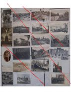 Germany WW1 21 photos Field Post postcards Solders Horsman Iron Cross Military Hospital Ruins German Photograph Great War 1914 1918