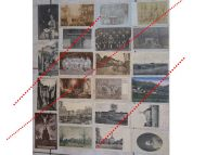 Germany WW1 22 photos Field Post Card Hospital Destructions soldiers Great War 1914 1918 German