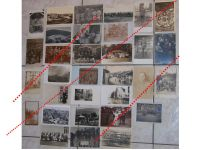 Germany WW1 32 photos Field Post postcards Solders Iron Cross Military Hospital Cemetery Ruins German Photograph Great War 1914 1918