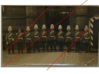 Germany Prussia WWI Photograph NCO Grenadier Guards Squad in Parade Kaiserin Augusta Regiment N.4 1900s