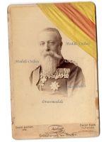 Germany WW1 Friedrich Grand Duke Baden Cabinet photograph 1882 1894 Medals Photo Shooting Award Ribbon Karl Military Order Merit