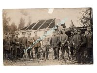 Germany WW1 Photo German Austrian Soldiers NCO Iron Cross 1st Class Photograph 1914 1918 Great War
