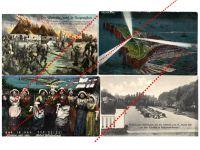 Germany WW1 4 Field Post postcard Heligoland East Prussia Winter Offensive German Great War 1914 1918