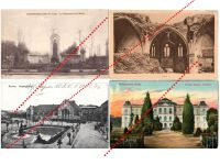 Germany France WW1 4 Field Post Monument Fallen Soldiers Gotha Palace postcards Great War 1914 1918