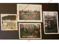 NAZI Germany WW2 4 photos photographs German NCOs Soldiers Training Trenches Wehrmacht WWII 1939 1945 Photograph