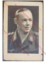 NAZI Germany WW2 photo Luftwaffe NCO Corporal WWII 1939 1945 Air Force photograph Dated 1944