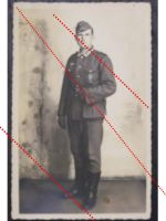 NAZI Germany WW2 photo portrait NCO Wound Sport Badge Wehrmacht WWII 1939 1945 photograph Dated 1942