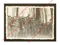 NAZI Germany WW2 Group photo German NCO Corporal Soldiers Company Group WWII 1939 1945 Wehrmacht Photograph