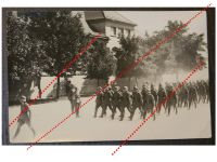 NAZI Germany WW2 photo German Army Wehrmacht Troops Parade Company Blitzkrieg photograph