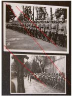 NAZI Germany WW2 2 photos German Honor Squad Guards photographs Army Military Wehrmacht WWII 1939 1945 Photograph