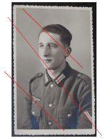 NAZI Germany WW2 photo German NCO Corporal portrait WWII 1939 1945 Wehrmacht photograph
