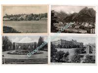 NAZI Germany WW2 4 postcards 1940 1943 Field Post Wehrmacht 1945
