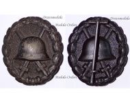 Germany Black Wound Badge Medal WW1 1914 1918 German Prussian Army Great War Magnetic Decoration