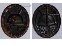 NAZI Germany Black Wound Badge WW2 1939 1945 Non Magnetic German Decoration Wehrmacht Waffen SS