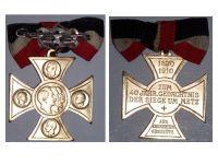 Germany Franco Prussian War Veterans Cross Siege Metz Military Medal 1870 1871 Kaiser Wilhelm 1910