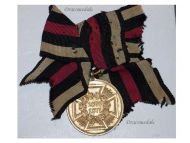 Germany Franco Prussian War Commemorative Military Medal 1870 1871 Bronze Combatants Kaiser Wilhelm