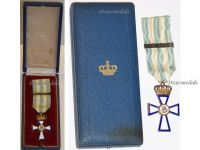 Greece WWII Cross for Military Valor 1st Class with Clasp 1940 by Spink Boxed