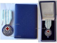 Greece Hellenic Red Cross Silver Medal 1924 Decoration Greek Interwar Asia Minor Campaign Cased by Kelaides