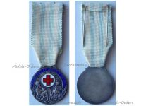 Greece Hellenic Red Cross Silver Medal Greek Decoration Interwar Asia Minor Campaign 1924