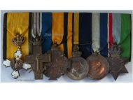 Greece WW2 Knight Order Phoenix Navy Cross Military Medal Commemorative Star Greek bar 1940 1945