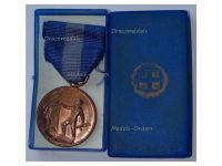 Greece WWII National Resistance Medal 1941 1945 2nd Type Boxed