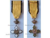 Greece WW2 Royal Order Phoenix Officer's Gold Cross Military Medal King Paul 1947 Decoration Greek Civil War