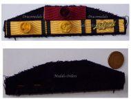 Greece WW2 Officer Royal Order Phoenix George Civil Military Medal Merit 1940 1945 Greek Ribbon Bar Decoration Brigadier General