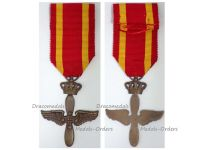 Greece WWII Royal Hellenic Air Force Cross 1945 Greek Kingdom King Paul I Military Medal WW2 1940