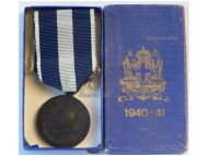 Greece WW2 Commemorative Military Medal Crete Albania War vs Germany Italy WWII 1940 1941 Greek Boxed