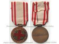 Greece WWII Hellenic Red Cross Commemorative Medal 1940 1941