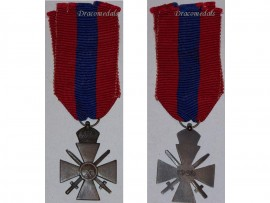 Greece WW2 Cross Military Merit Medal 3rd Class Bronze Crown Spink Decoration 1940 Greek WWII 1945