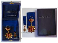 Saint St George Georgios Antioch Order Knight's Cross Military Medal WWI 1914 1918 Great War Boxed with Miniature