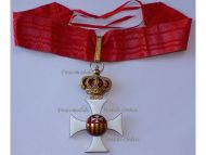 Order Our Lady of Mercy Commander's Cross Medal Aragon Royal Military WWI 1914 1918 Great War