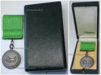 Imperial Order Sun Lion Homayoun Silver Medal Military Division 1925 1941 Decoration Boxed Maker Arthus Bertrand