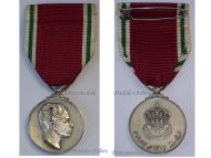 King Faisal II Coronation Commemorative Medal 1953 Silver 925 by Huguenin Freres