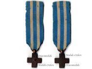 Italy WW1 Cross for War Merit MINI