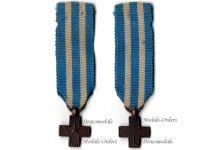 Italy WW1 Cross War Merit Military Medal WWI 1914 1918 Italian Kingdom Great War Decoration MINI