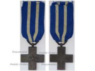 Italy WWI Cross for War Merit Maker Marked M